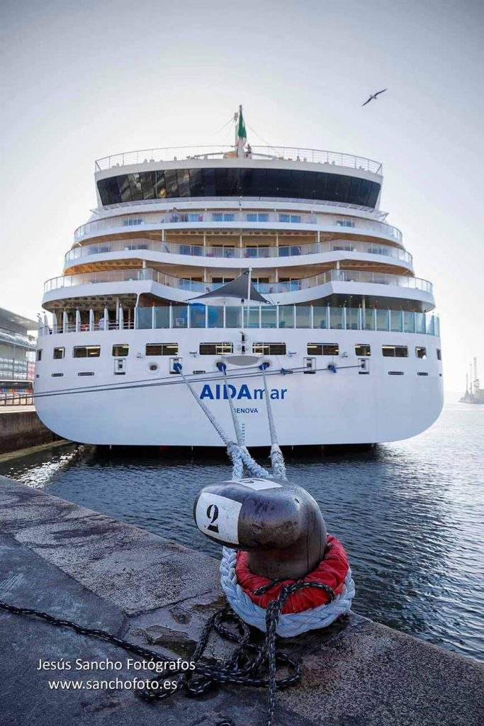 Puertos A Coruña cruceros fotógrafo