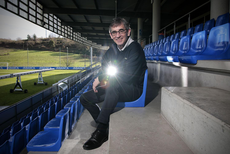 futbol entrevistas fernando vazquez  fotografo deportes a coruña galicia